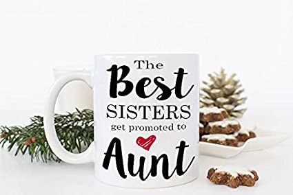 Christmas Gifts For Sister.Amazon Com New Aunt Mug New Aunt Gift Christmas Gift For