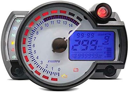 S2 Track W1 Digital Tachometer f/ür Yamaha FZ6 Fazer