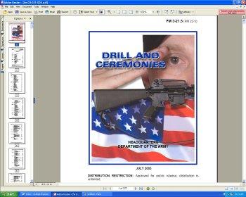 amazon com u s army fm 3 21 5 drill and ceremonies manual of rh uedata amazon com manual of arms m4 M14 CO2 Rifle Nomenclature