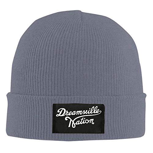 782e3e8dc3d Mens Womens Beanie Cap Watch Hat Winter Warm Knit Skull Hat Cap with Custom  Dreamville Records