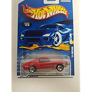 '68 Mustang Hot Wheels 2001 diecast 1/64 scale car No. 126