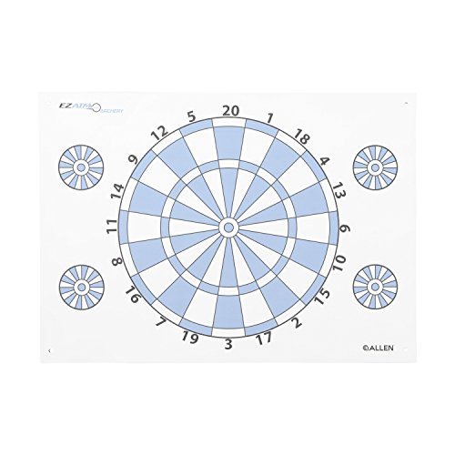 Allen Company 2022 Dartboard Archery Paper Target with Pins (Archery Targets Dartboard)