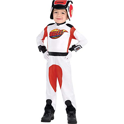 Suit Yourself AJ Halloween Costume for Boys, Blaze and the Monster Machines, 3-4T, Includes Accessories