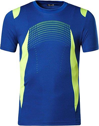 jeansian Uomo Asciugatura Rapida Sportivo Maglietta Gym Wear Workout T-Shirts Tee Shirt Tshirts LSL189 1 spesavip
