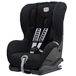 britax duo plus isofix forward facing car seat group 1 black thunder baby. Black Bedroom Furniture Sets. Home Design Ideas