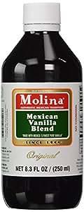 Molina Vanilla-Mexican Vanilla 250ml (2 Bottles)