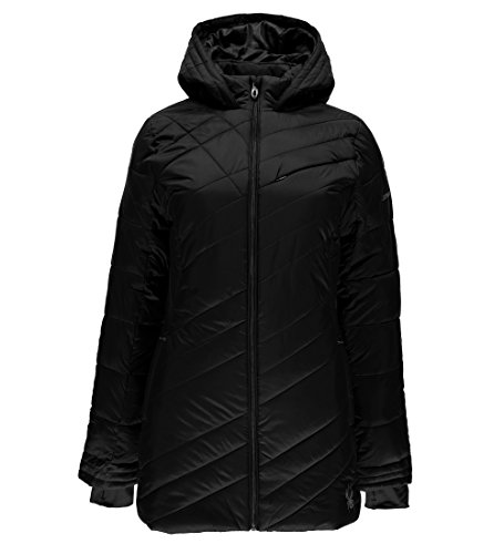 Spyder Women's Siren Long Jacket, Black, ()