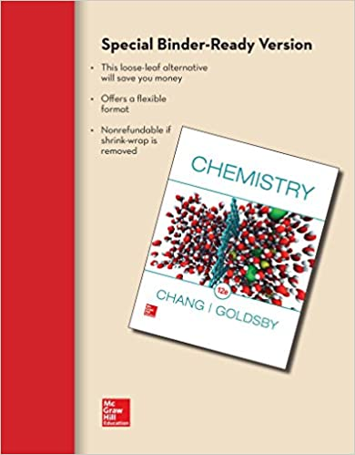 Loose leaf for chemistry raymond chang dr kenneth goldsby loose leaf for chemistry 12th edition fandeluxe