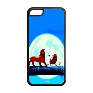 MMZ DIY PHONE CASECustomize Cartoon Series The Lion King Hakuna Matata Back Case for iphone 4/4s JN5C-1615