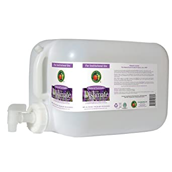 Earth Friendly Products Proline PL9727/05U Dishmate Lavender Ultra-Concentrated Liquid Dishwashing Cleaner, 5 gallon Deltangular