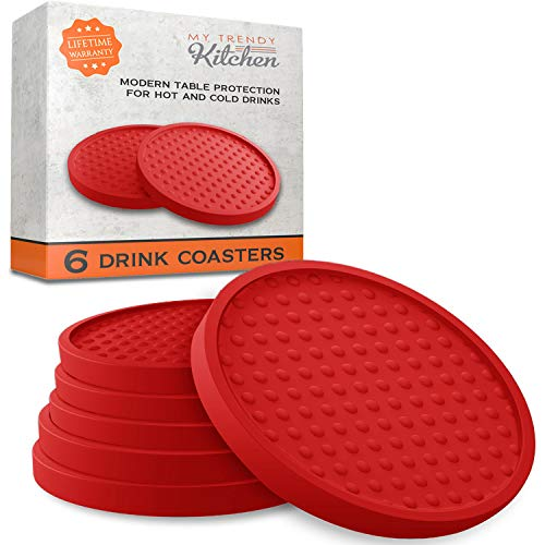 Large Drink Coasters Moisture Prevents product image