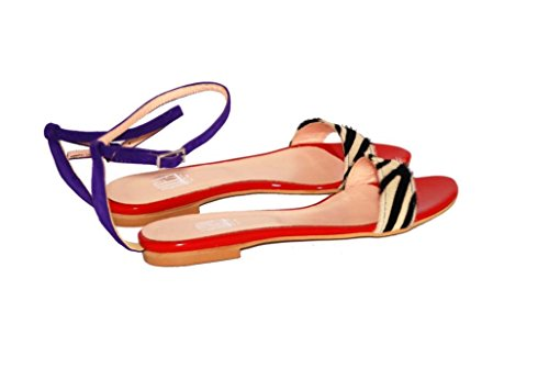 Sandalen Sandaletten aus Leder Schuhe Damen RIPA shoes - 55-200