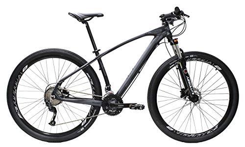 Bicicleta Aro 29 Elleven Rocker 27 Marchas Shimano Altus (Cinza, 21)