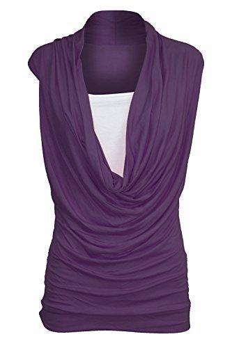 Drape Front Jersey Dresses - 5