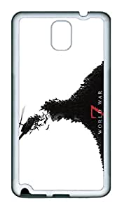 Samsung Galaxy Note 3 Case, Note 3 Case - Special Edition Rubber Case Bumper for Galaxy Note 3 World War Z Perfect Fit White Soft Rubber Covers for Samsung Galaxy Note 3