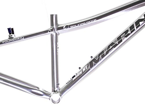"22"" MARIN BOLINAS RIDGE 26"" Hard Tail MTB Frame Brushed Silver Aluminum NOS NEW"
