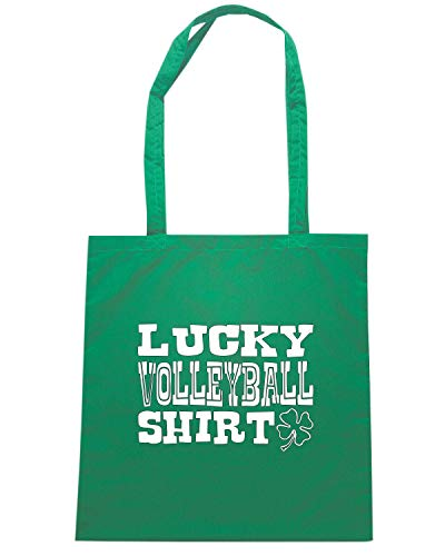 Speed Shirt Borsa Shopper Verde OLDENG00850 LUCKY VOLLEYBALL