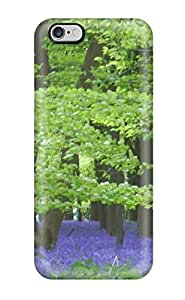 Hot Tpye Field Of Purples Flower Earth Nature Flower Case Cover For Iphone 6 Plus