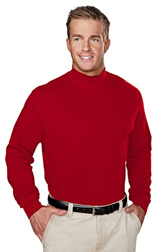 (Tri-Mountain 100% Cotton Golf Cut Spandex Stretch Shirt - 620 Graduate)