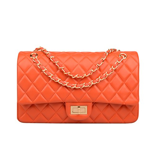 Quilted Leather Handbags - 1