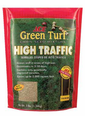 Ace Play-tuf Grass Seed For High Traffic Areas