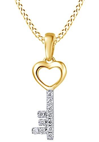 0.1 Ct Diamond Key - 3