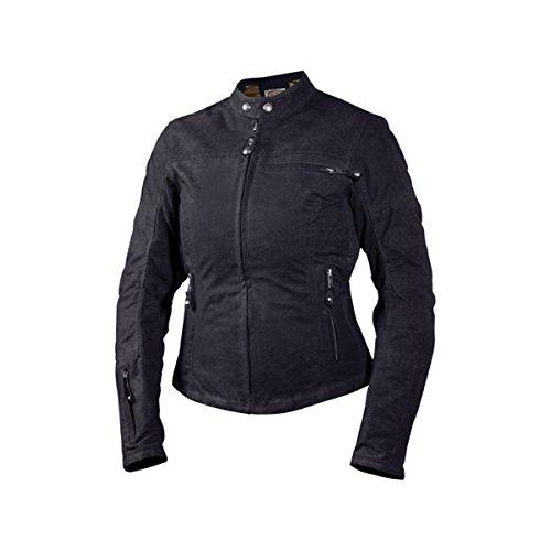 Roland Sands Design Womens Off-Road/Dirt Bike Motorcycle Vada Text Jacket - Black / Medium