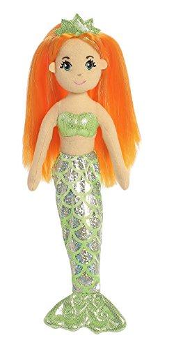 Aurora World Sea Sparkles Mermaid Plush, Amber, Small