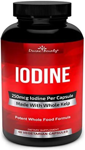 Iodine Supplement 250mcg Ascophyllum Metabolism product image