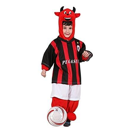 Disfraz de carnaval Diabla futbolista 2-4 years: Amazon.es: Bebé