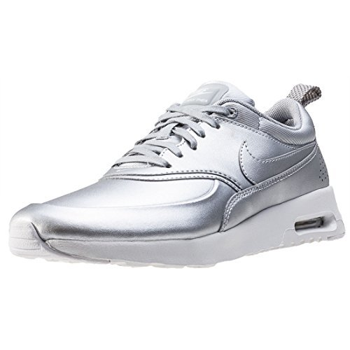 Nike Womens Air Max Thea SE Running Trainers 861674 Sneakers Shoes (US 10, metallic silver 001)