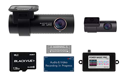 BlackVue DR900S-2CH with 128GB Micro SD Card with Power Magi