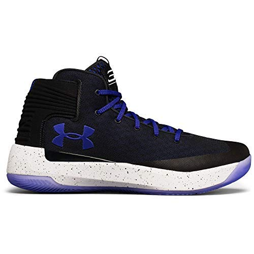 b0d23d975193 Image Unavailable. Image not available for. Colour  Under Armour Men s  Anthracite White Constellation Purple Curry 3 Basketball Shoes ...