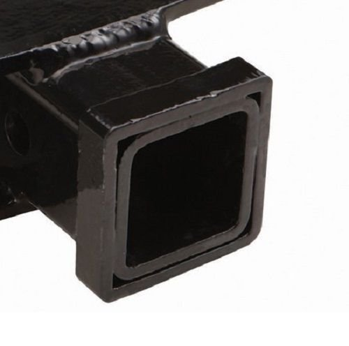 GHP Bumper Step Receiver Hitch w Built-in Safety Chain Placement Holes by Globe House Products
