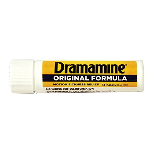 Dramamine Original 6 Package Display-4 Pre Loaded Clip Strips by Dramamine (Image #8)