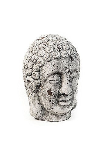 Vagabond Vintage Oohlong Market Cement Buddha Head Large