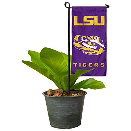 (Louisiana State LSU Tigers Mini Garden and Flower Pot Flag Topper)