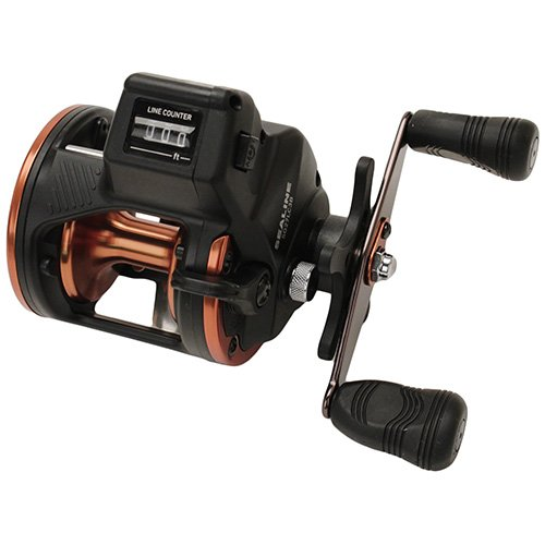 Plus Line Counter Reel - Daiwa SG27LC3BW Sealine SG-3B Line Counter Reel, W/Dual Paddle Handle, Heavy