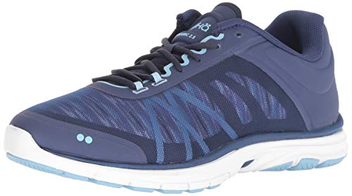 Ryka Women's Dynamic 2.5 Cross Trainer, Blue, 6.5 M US