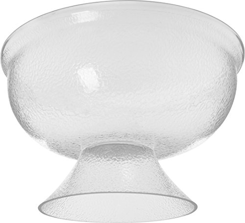 Carlisle SP1807 Acrylic Pebbled Punch Bowl, 16-qt. Capacity, 17.75'' Diameter x 10.63'' Overall Height x 6.5'' Depth, Clear by Carlisle (Image #4)
