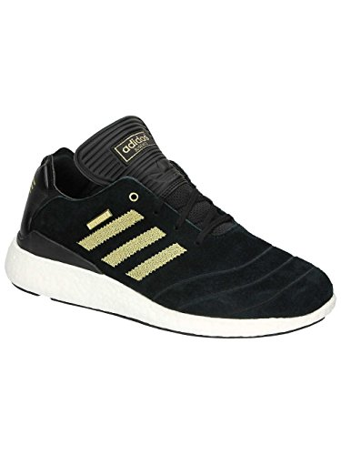 Adidas Skateboarding F37886 Busenitz Pure Boost 10 Yr Anni Black Gold White Core Black/Gold Metallic/Ftwr White