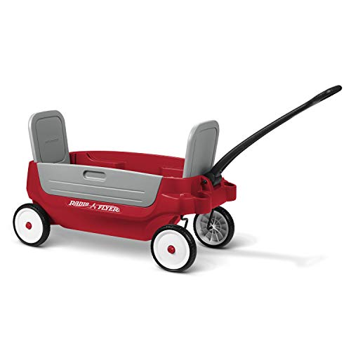 Radio Flyer Grandstand Deluxe 3-in-1 Wagon with Canopy Kids