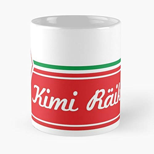Kimi F1 Raikkonen Kimi7-11 Oz Coffee Mugs Unique Ceramic Novelty Cup, The Best Gift For Holidays.