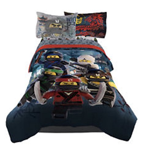 LEGO Ninjago Reversible Bedding Comforter - Twin by Lego Ninjago Jr.