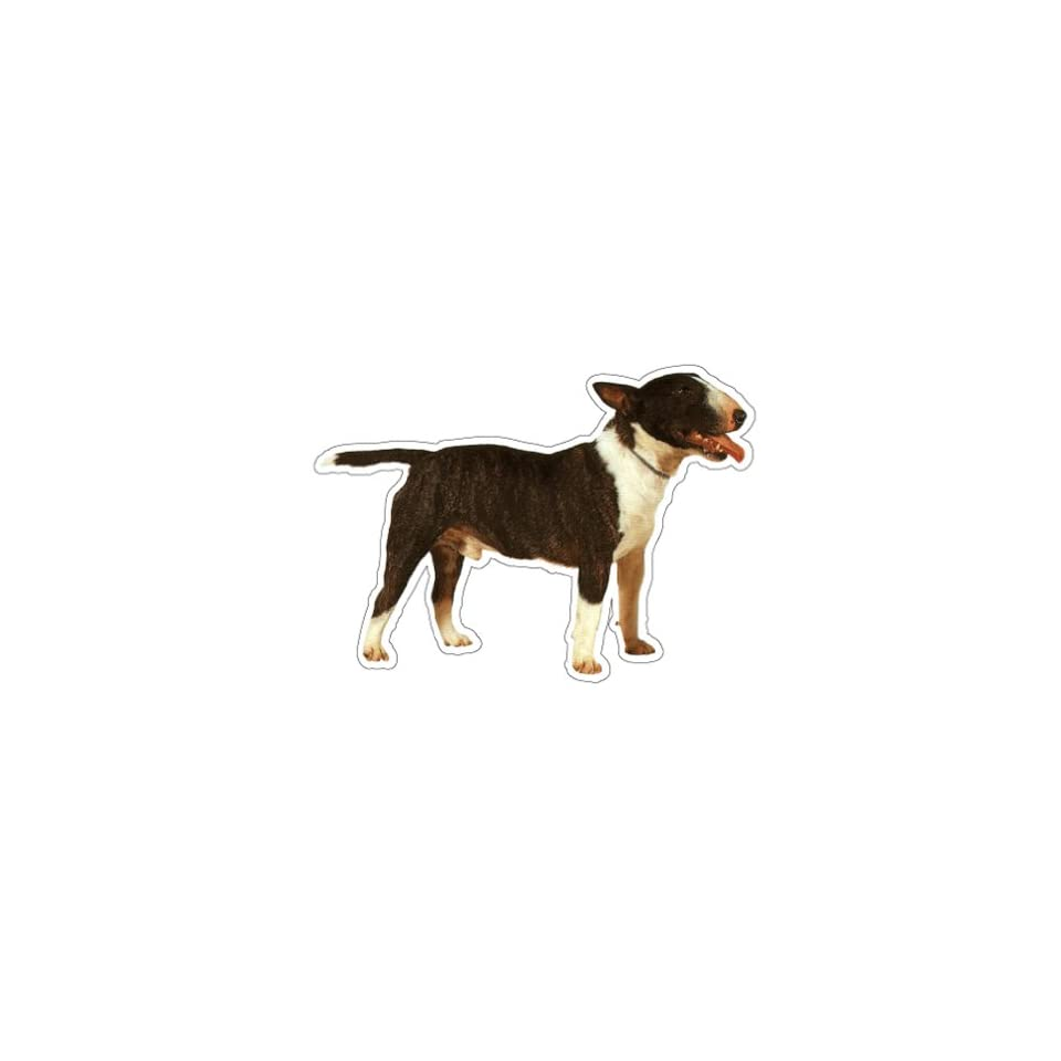 BULL TERRIER   Dog Decal   sticker dogs car got window