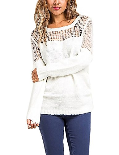 long-sleeve-round-neck-mesh-knit-sweater-top-ivory-m-l