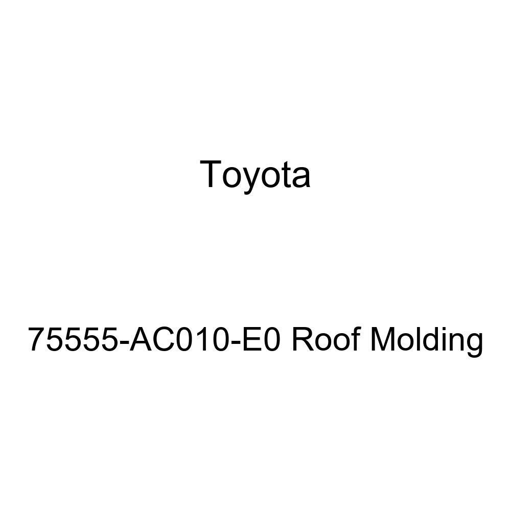 Genuine Toyota 75555-AC010-E0 Roof Molding