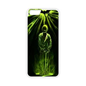 iPhone 6 Plus 5.5 Inch Cell Phone Case White Batman Riddler Poster C7R1GE