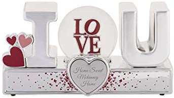 Things Remembered Personalized I Love U Snow Musical Globe with Engraving Included