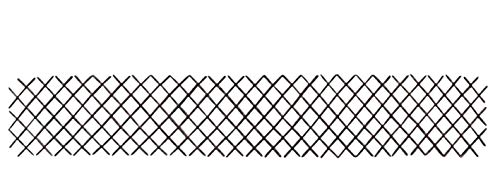 MGP WFF-12, Brown Willow Expandable Lattice Fence, 72